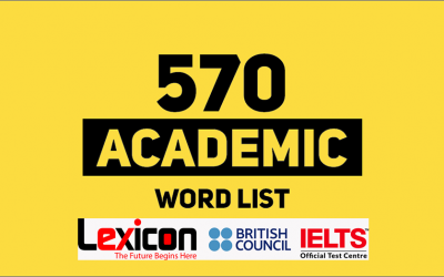Learn 570 EssentialWords for IELTS